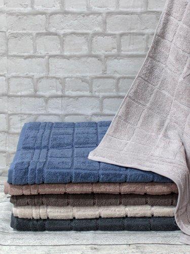 Набор полотенец для ванной 6 шт. Efor ADEN хлопковая махра 50х90, фото, фотография