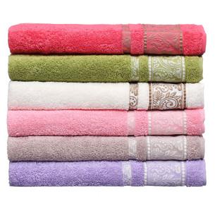 Набор полотенец для ванной 6 шт. Pupilla NORA хлопковая махра 50х90