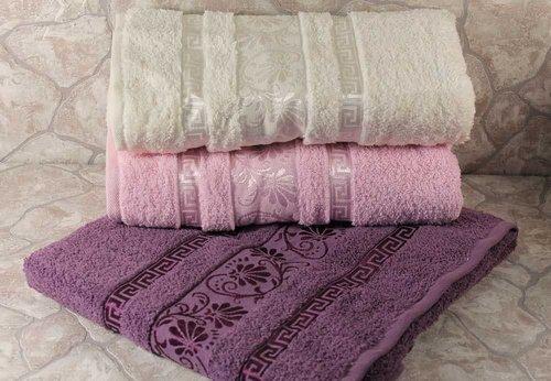 Набор полотенец для ванной 6 шт. Cestepe VIP COTTON DIANA хлопковая махра 50х90, фото, фотография