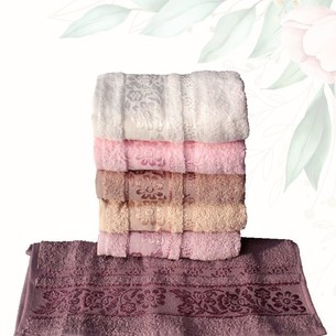Набор полотенец для ванной 6 шт. Efor ACELYA хлопковая махра 70х140