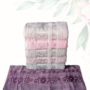 Набор полотенец для ванной 6 шт. Efor BAHAR хлопковая махра 70х140