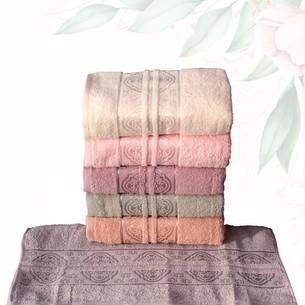 Набор полотенец для ванной 6 шт. Efor HAZAL хлопковая махра 50х90