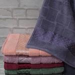 Набор полотенец для ванной 6 шт. Efor HAZAN хлопковая махра 70х140, фото, фотография