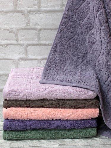 Набор полотенец для ванной 6 шт. Efor PERA хлопковая махра 50х90, фото, фотография