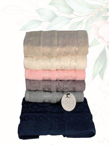 Набор полотенец для ванной 6 шт. Efor SARAY хлопковая махра 70х140, фото, фотография