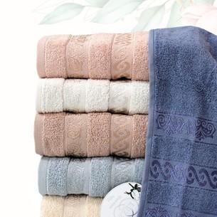 Набор полотенец для ванной 6 шт. Efor SOFT хлопковая махра 50х90