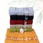 Набор полотенец для ванной 6 шт. Efor SPORT хлопковая махра 50х90, фото, фотография