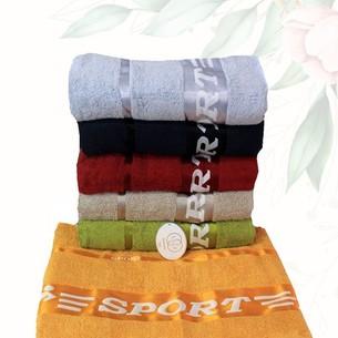 Набор полотенец для ванной 6 шт. Efor SPORT хлопковая махра 70х140