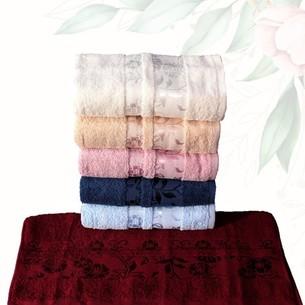 Набор полотенец для ванной 6 шт. Efor ZAMBAK хлопковая махра 50х90