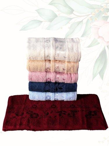 Набор полотенец для ванной 6 шт. Efor ZAMBAK хлопковая махра 30х50, фото, фотография