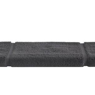 Коврик для ванной Soft Cotton NODE хлопковая махра антрацит 50х90