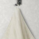 Полотенце для ванной Karna FLOW хлопковая махра кремовый 70х140, фото, фотография