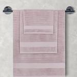 Полотенце для ванной Karna FLOW хлопковая махра светло-лавандовый 40х60, фото, фотография