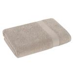 Полотенце для ванной Karna AREL хлопковая махра капучино 70х140, фото, фотография