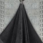 Полотенце для ванной Karna AREL хлопковая махра тёмно-коричневый 50х100, фото, фотография