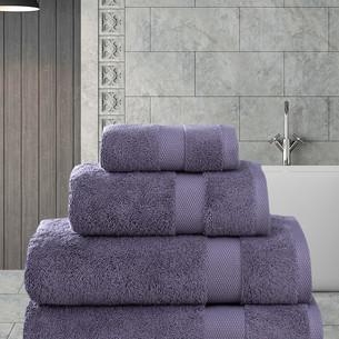 Полотенце для ванной Karna AREL хлопковая махра светло-лавандовый 100х150