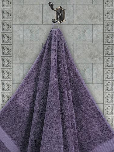 Полотенце для ванной Karna AREL хлопковая махра светло-лавандовый 50х100, фото, фотография