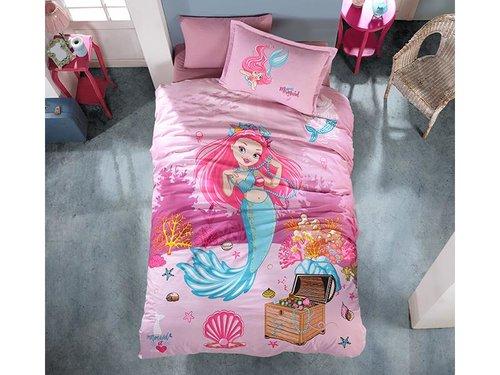 Детское постельное белье Clasy DELFIN хлопковый ранфорс 1,5 спальный, фото, фотография