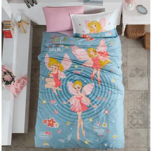 Детское постельное белье Clasy POWER GIRL хлопковый ранфорс 1,5 спальный
