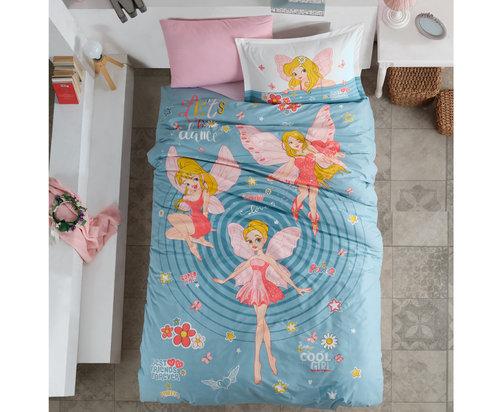 Детское постельное белье Clasy POWER GIRL хлопковый ранфорс 1,5 спальный, фото, фотография