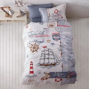 Детское постельное белье Clasy SAILIFE хлопковый ранфорс 1,5 спальный