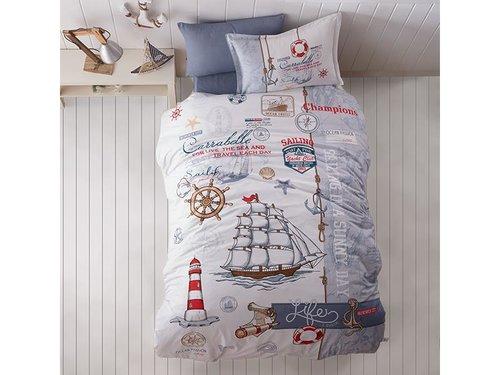Детское постельное белье Clasy SAILIFE хлопковый ранфорс 1,5 спальный, фото, фотография