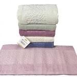 Набор полотенец для ванной 6 шт. Karacan MOTIF хлопковая махра 30х50, фото, фотография