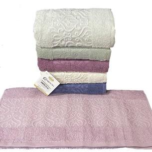 Набор полотенец для ванной 6 шт. Karacan MOTIF хлопковая махра 30х50