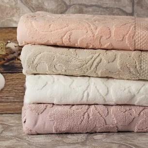 Набор полотенец для ванной 4 шт. Pupilla ELIZ хлопковая махра V1 50х90
