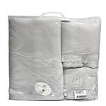 Набор полотенец для ванной 3 пр. Pupilla BERNINI светло-серый, фото, фотография
