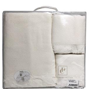 Набор полотенец для ванной 3 пр. Pupilla BERNINI кремовый