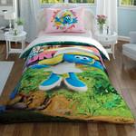 Детское постельное белье светящееся TAC SIRINLER FUNNY GIRL хлопковый ранфорс 1,5 спальный, фото, фотография