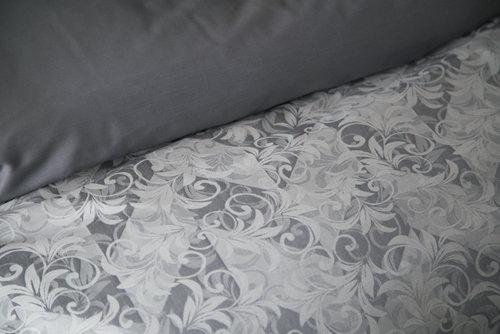 Постельное белье Issimo Home SATIN DELUXE GRATZI хлопковый сатин делюкс евро, фото, фотография
