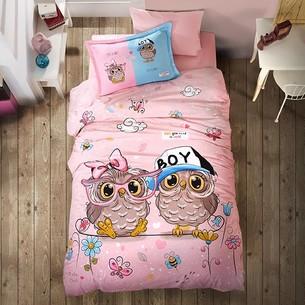 Детское постельное белье Clasy PUHU хлопковый ранфорс 1,5 спальный