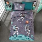 Детское постельное белье Clasy SPACE хлопковый ранфорс 1,5 спальный, фото, фотография