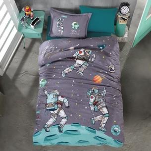 Детское постельное белье Clasy SPACE хлопковый ранфорс 1,5 спальный