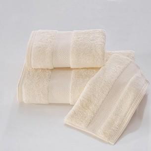 Полотенце для ванной Soft Cotton DELUXE махра хлопок/модал экрю 75х150