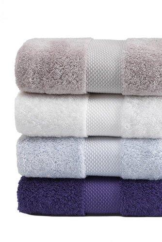 Полотенце для ванной Soft Cotton DELUXE махра хлопок/модал экрю 75х150, фото, фотография