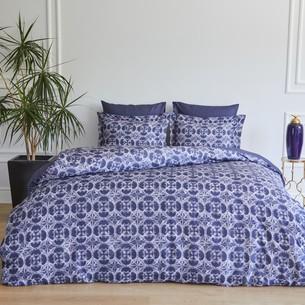 Постельное белье Soft Cotton MARCELLA тенсель синий евро