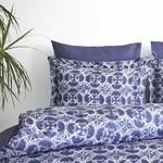 Постельное белье Soft Cotton MARCELLA тенсель синий евро, фото, фотография