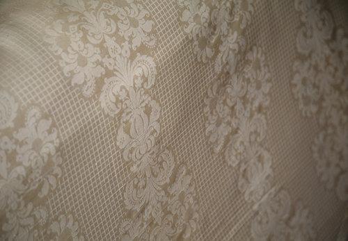 Постельное белье Issimo Home REVERANCE хлопковый сатин-жаккард делюкс бежевый евро, фото, фотография