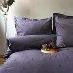 Постельное белье Issimo Home BOTILO хлопковый сатин-жаккард делюкс тёмно-серый евро, фото, фотография