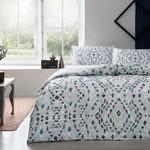 Постельное белье TAC HAPPY DAYS JOAN хлопковый ранфорс серый 1,5 спальный, фото, фотография