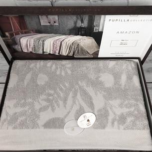 Махровая простынь для укрывания Pupilla AMAZON хлопок серый 220х240