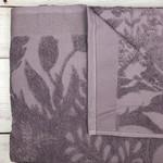 Махровая простынь для укрывания Pupilla AMAZON хлопок сливовый 220х240, фото, фотография