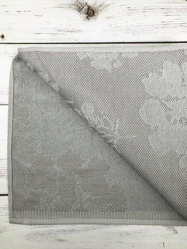 Махровая простынь для укрывания Pupilla PURE хлопок серый 220х240, фото, фотография