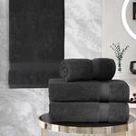 Подарочный набор полотенец для ванной 50х100(2), 70х140(2) Karna AREL хлопковая махра тёмно-коричневый, фото, фотография