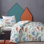 Детское постельное белье Tivolyo Home DINO хлопковый сатин делюкс 1,5 спальный, фото, фотография