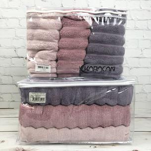 Набор полотенец для ванной 3 шт. Cestepe EZGI V4 70х140