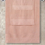 Полотенце для ванной Karna SIESTA хлопковая махра абрисоковый 40х60, фото, фотография